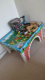 Thomas tank wooden train comes with full track & trains ( Some limited edition trains also )