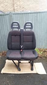 Citroen Relay / Peugeot Boxer / Fiat Ducato double passenger seat