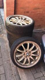 """19"""" Hartge Classic Replicas staggered 5x120 BMW Fitment"""