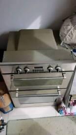 DeLonghi built in double oven