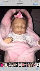 For sale Ashton drake reborn doll new
