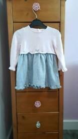 Dress and Gillet set