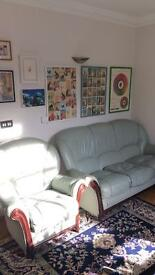 Retro seater sofa & armchair