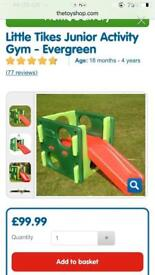 Little tikes cube and slide