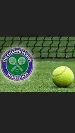 Wimbledon tennis men's semi final tickets x 2 (£1,650)