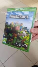 Minecraft Game. Xbox One. Brand new.