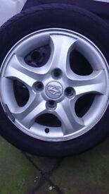 5 Hyundai alloys for sale 2 with good tyres