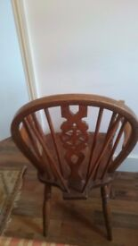 Set of 3 Wooden Chairs