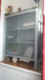 Frosted glass cabinet