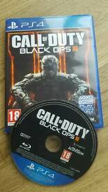 Call of Duty: Black Ops 111 PS4 Excellent condition