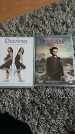 Poldark Series 1 and Davina Maternity Workout DVDS- new