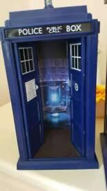Dr who tardis,11th drs blue console,Rare