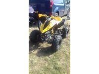 125cc auto quadbike
