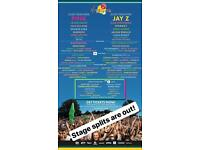 2 V Festival tickets (Weston park)