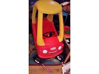 Little tikes toy car - excellent condition