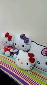 Bundle of Hello Kitty Teddies