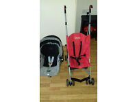 Lightweight Pushchair and Baby car seat