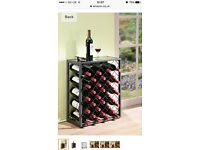 New and boxed wine rack