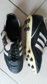 Adidas Kaiser 5 leather football boots size 7.5