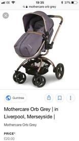 Mothercare orb pram