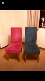 4 DFS Dining Room Chairs