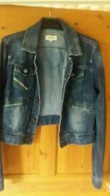 Diesel denim jacket size large