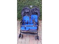 Joie double buggy - like new