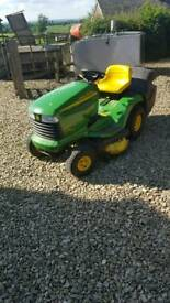 John deere ltr180 ride on lawn mower