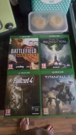 Xbox One games x 4 brand new