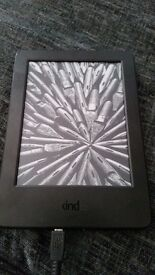 Amazon Kindle 7th Gen Touch Screen 2014, 4GB, Wi-Fi, 6in - Black