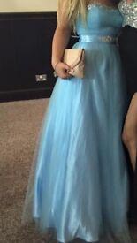 Baby Blue Prom Dress PRINCESS CINDERELLA DRESS