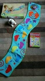 ***light and sound ELC mat and alphabet game (puppy not included)