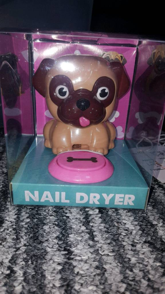 Pug Nail Dryerin Poringland, NorfolkGumtree - Pug nail dryer. Brand new still in the box! So in immaculate condition. Good for a present!