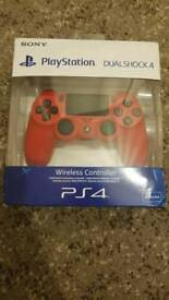 PS4 (PlayStation 4) wireless controller v2 red - BRAND NEW in box