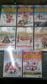 Carry On DVD's