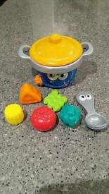 Leapfrog cooking pot