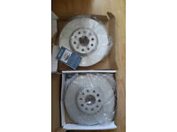 FOR AUDI SEAT SKODA VW FRONT MEYLE PD COATED BRAKE DISCS 312mm 1835211094/PD