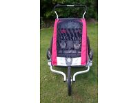 The best running buggy and bike trailer ever! Chariot Cougar 2 (2 seats)