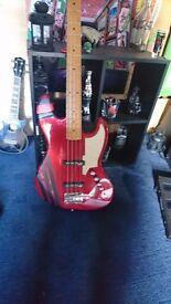 Stagg SBJ-50 MRD Custom J Bass Guitar