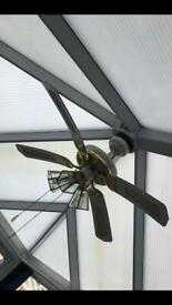 Ultraframe Conservatory Ceiling fan light