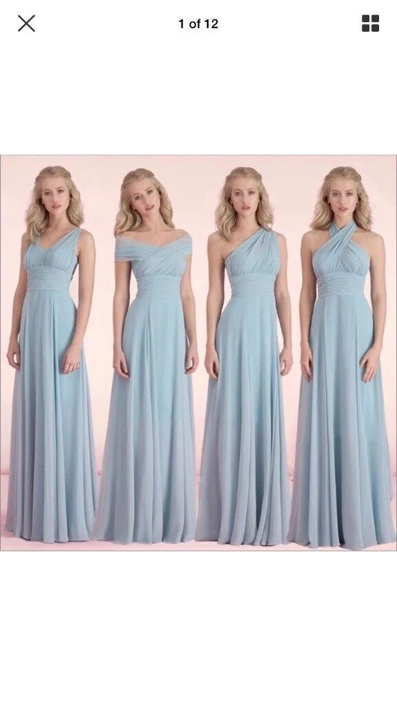 Size 2022 Chiffon Bridesmaids Formal Ball Gown In Eaglescliffe