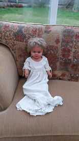 large 1940s/1950s doll