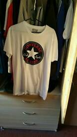 Convers all star t shirt mens size medium New