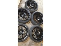 AUDI A6 Alloys wheels Blak 19.inch