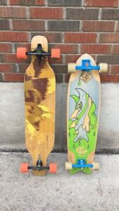 Loaded and comet long boards