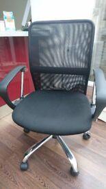 Argos Mesh Gas Lift adjustable office Chair