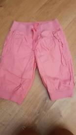 Girls next crop trousers