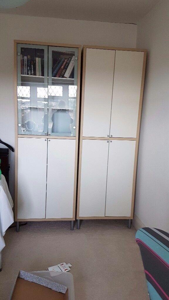 Ikea Display/Storage Cupboards as new