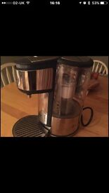Breville hot water Brita dispenser by mug or cup size