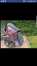 Double bike trailer rrp £200